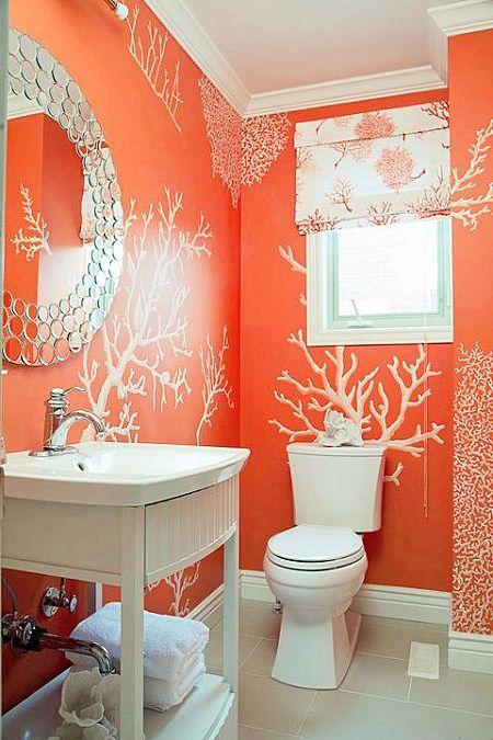 free decoracion de baos color naranja decoracion de interiores decoracin decora tu casa facil y rapido como un experto with baos de color with baos color - Baos De Color