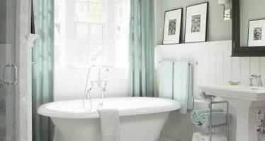 Decoracion de baños en color blanco