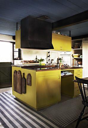 Decoracion de cocina en color amarillo (15)   Decoracion de ...