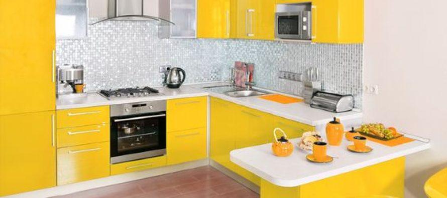 Decoracion de cocina en color amarillo decoracion de - Decoracion en amarillo ...