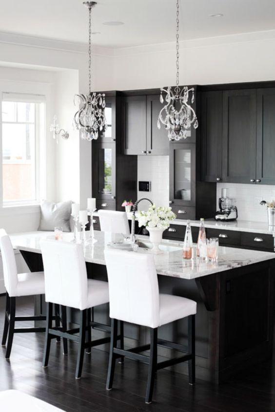 Decoracion de comedores en blanco y negro 16 curso de decoracion de interiores - Decoracion de interiores cursos ...