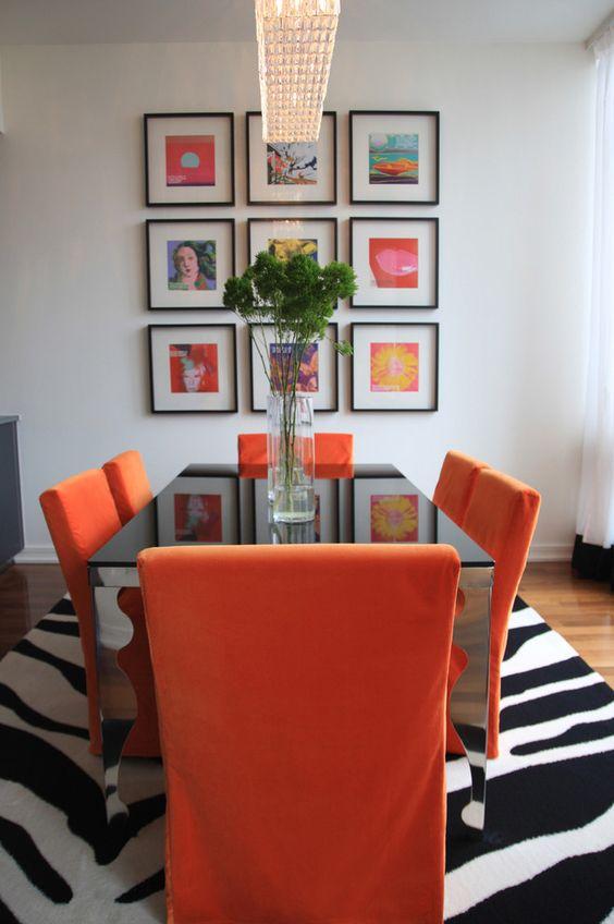 Decoracion de comedores en color naranja 18 decoracion for Decoracion hogar naranja