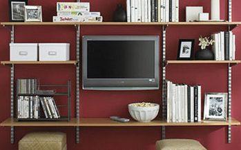 Decoración de cuarto de tv