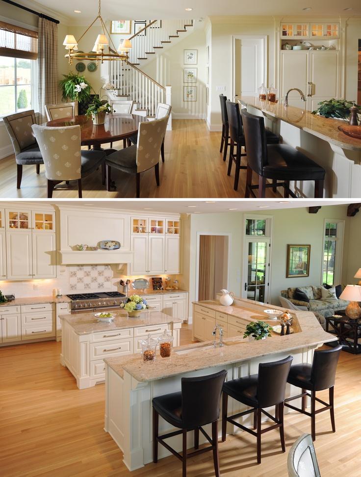 Decoracion de casas con sala y comedor abiertos - Decora tu comedor ...