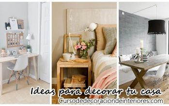 Alternativas para decorar tu casa