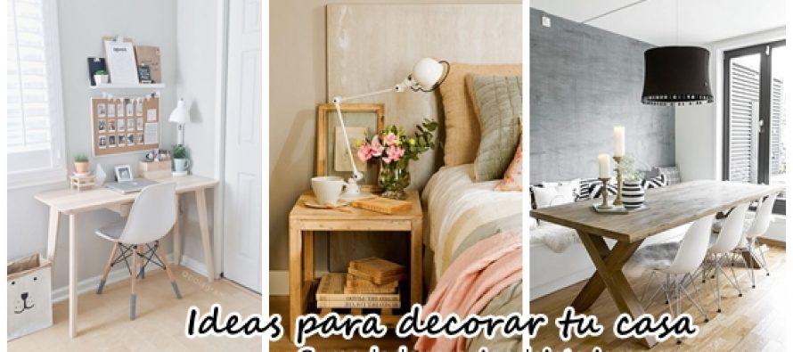 Alternativas para decorar tu casa