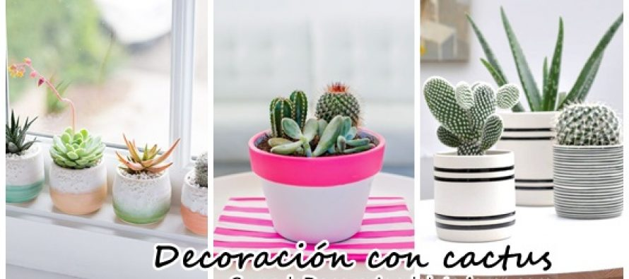 Decoraci n con cactus decoracion de interiores for Cactus decoracion