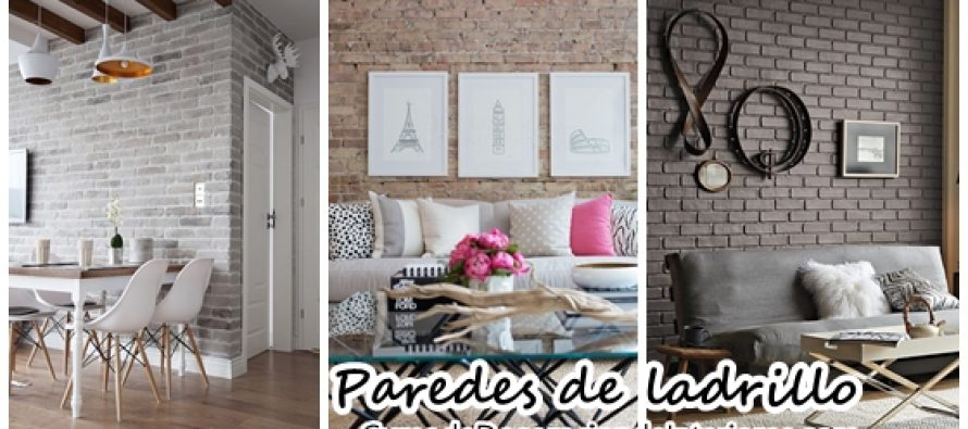 Decoraci n de interiores con paredes de ladrillo for Decoracion de paredes interiores