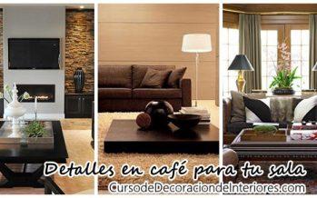 Decoración de salas en café