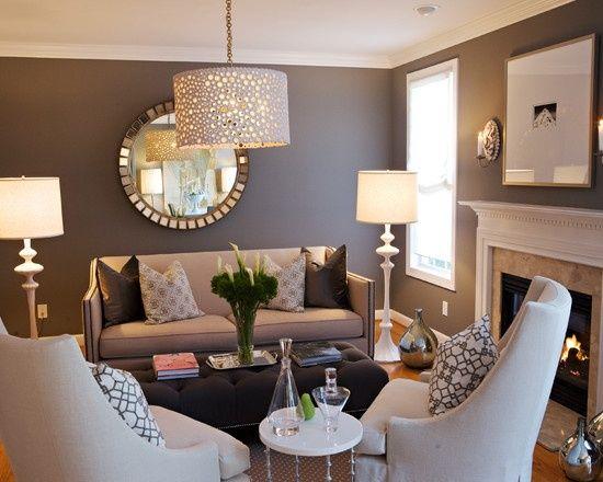 decoracion-interiores-salas-color-gris-14 | Decoracion de interiores ...