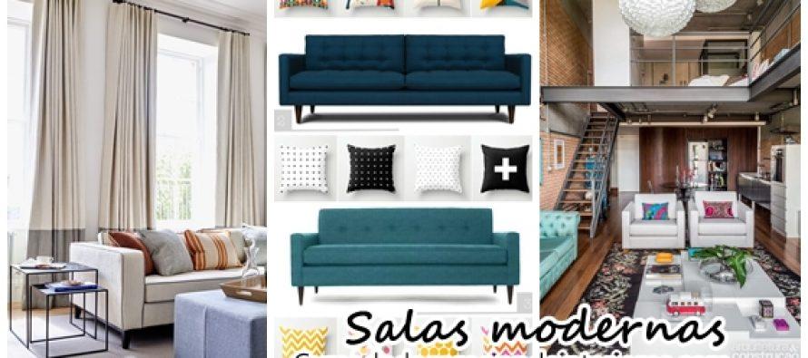 Decoración moderna de salas de estar