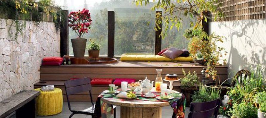 Decoracion con plantas para interior y exterior