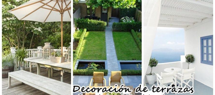 Ideas de decoración para terrazas