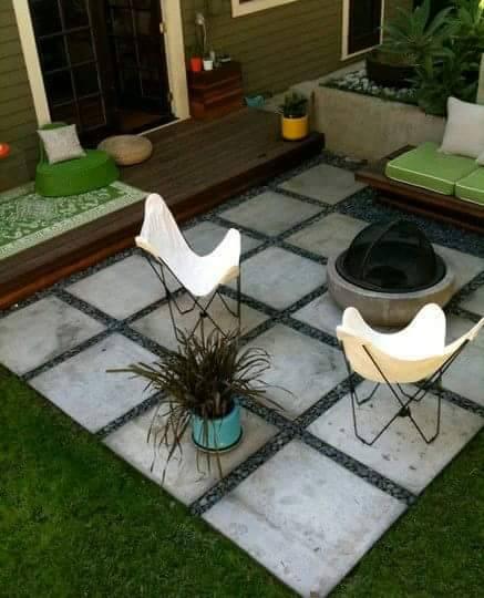 Como decorar patio con piedras : como decorar un patio con piedra ...
