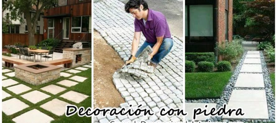 Ideas para decorar con piedras el patio de tu casa for Ideas para remodelar tu casa