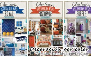 Ideas para decorar por color