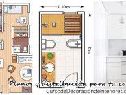 Planos y distribución para espacios pequeños