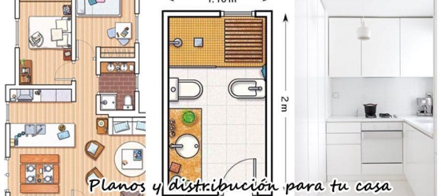 Planos y distribuci n para espacios peque os decoracion for Decoracion de interiores para espacios pequenos