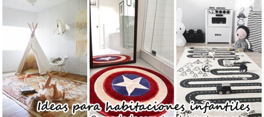 Alfombras y tapetes para habitaciones infantiles for Alfombras y tapetes