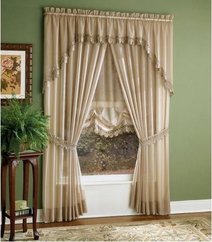 Cortinas para decorar tu sala de estar 10 decoracion de - Abrazaderas para cortinas ...