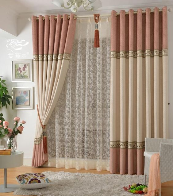 Cortinas para la sala y comedor ms de ideas increbles for Cortinas comedor 2016