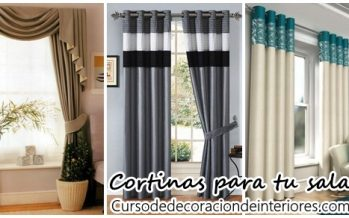 Cortinas para decorar tu sala de estar