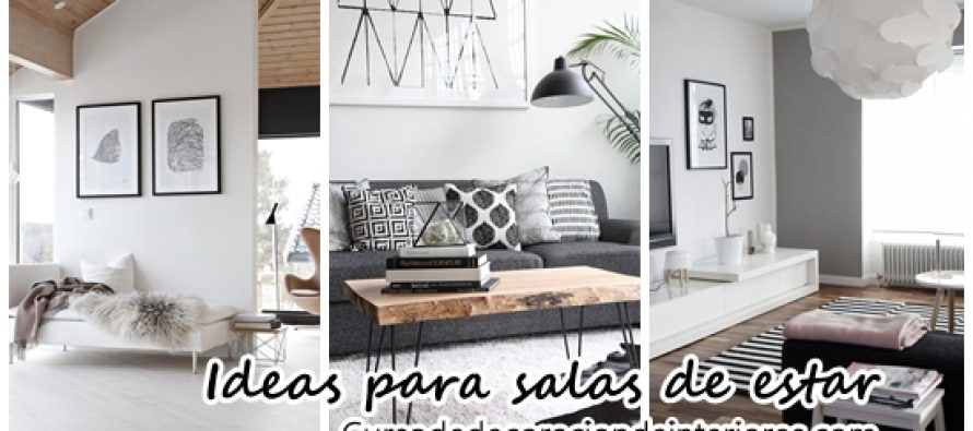 Decora tu sala de estar con estas increibles ideas for Decora tu sala moderna