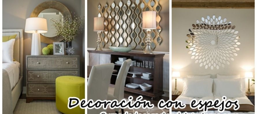 Decoraci n con espejos decoracion de interiores - Decoracion con espejos ...