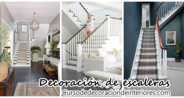 Decoración de escaleras interiores