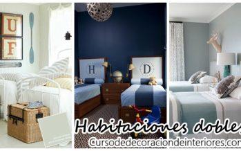 Decoración de habitaciones dobles