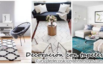 Decoración de interiores con tapetes