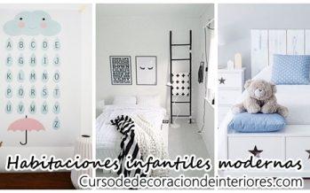 Decoración moderna de habitaciones infantiles