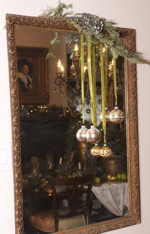 Decoracion navidena con espejos 6 decoracion de for Espejos decoracion interiores