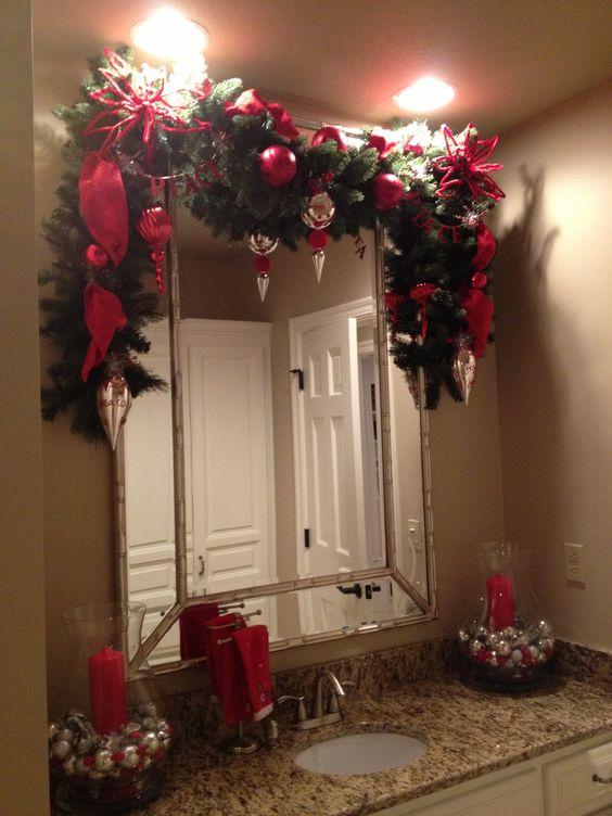 Decoracion navidena con espejos 7 decoracion de for Decoracion casa navidena