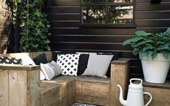 Decoración de jardines estilo lounge – que tu mismo puedes hacer