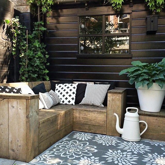 Decoracion de jardines estilo lounge - que tu mismo puedes hacer