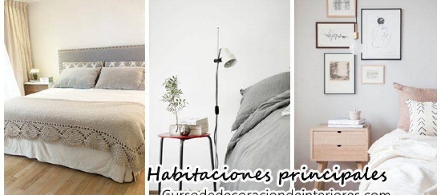 Detalles de decoración para habitaciones principales