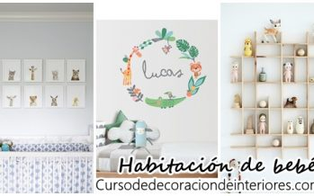 Detalles para decorar una habitación de bebé