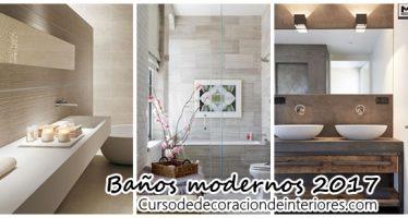 Diseña tu baño moderno – tendencias 2017