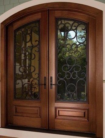 puertas para exteriores