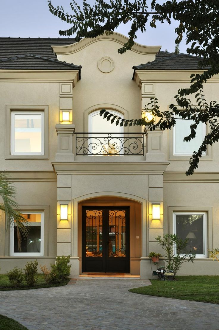 Disenos de puertas para exteriores 24 curso de - Molduras para ventanas exteriores casas ...