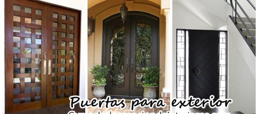 Puertas para casa exterior cool decoracion ventanas para for Puertas para casa exterior