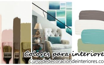 Ideas de color para decoración de interiores