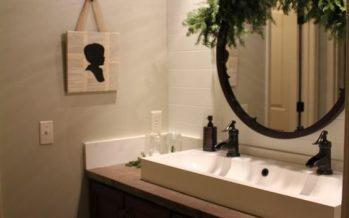 Ideas para decorar tu baño esta navidad 2017-2018