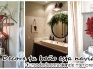 Ideas para decorar tu baño esta navidad 2016-2017