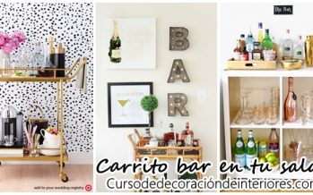 Increibles ideas de bar car en tu sala de estar