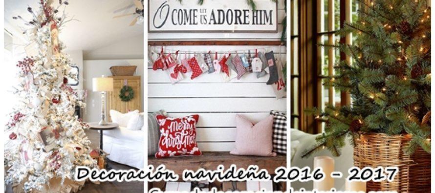 opciones para decorar tu casa esta navidad