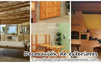 Proyectos de decoración de exteriores ¡Intentalos!