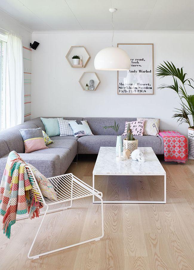 Salas de estar estilo escandinavo 32 curso de decoracion de interiores interiorismo - Decoracion de interiores cursos ...