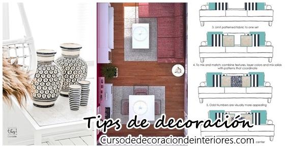 Tips de decoraci n de interiores curso de decoracion de interiores interiorismo decoraci n - Tips de decoracion ...